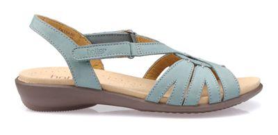 Hotter - Aqua 'Flare' slingbacks Fashionable and eye-catching shoes