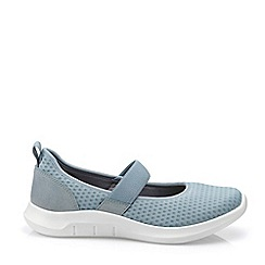 Hotter - Light Blue 'Flow' Mary Janes Shoes