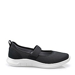 Hotter - Near Black 'Flow' Mary Janes Shoes