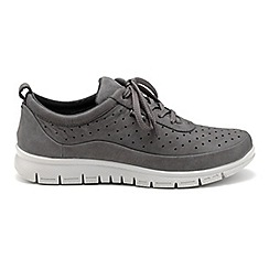 Hotter - Dark grey 'Gravity' lace-up trainers