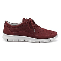 Hotter - Maroon 'Gravity' lace-up trainers