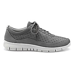 Hotter - Grey 'Gravity' lace-up trainers