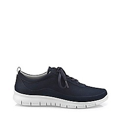 Hotter - Navy 'Gravity' lace-up shoes