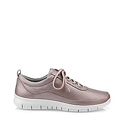 Hotter - Lilac 'Gravity' lace-up shoes