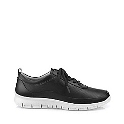 Hotter - Black 'Gravity' lace-up shoes
