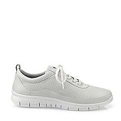 Hotter - White 'Gravity' Lace-Up Shoes