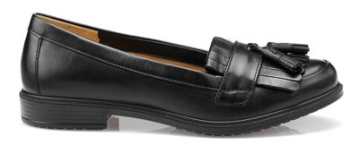 Hotter - Black 'Hamlet' moccasins Fashionable and eye-catching shoes