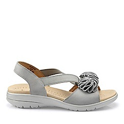 a59ff22702e Hotter - Grey  Hannah  Wide Fit Slingback Sandals