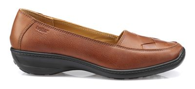 Hotter Hotter Hotter - Dark tan 'Havana' slip-on shoes 16f09e