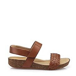 Hotter - Dark Tan 'Haven' Slingback Sandals