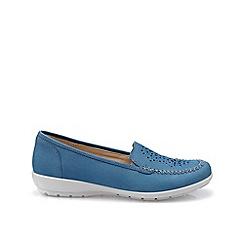 Hotter - Blue 'Jazz' wide fit pumps