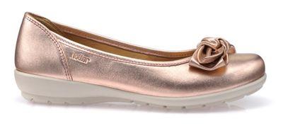 Light gold 'Jewel' ballet pump shoes