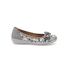 eb652d47707f Hotter - Blue  Jewel  wide fit ballet pump shoes