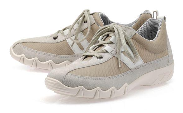 fit trainers Beige Hotter lace 'Leanne' wide up 60cS0qRtw