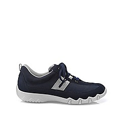 Hotter - Dark blue 'Leanne' lace-up trainers