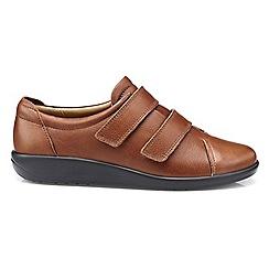 Hotter - Dark tan 'Leap' shoes