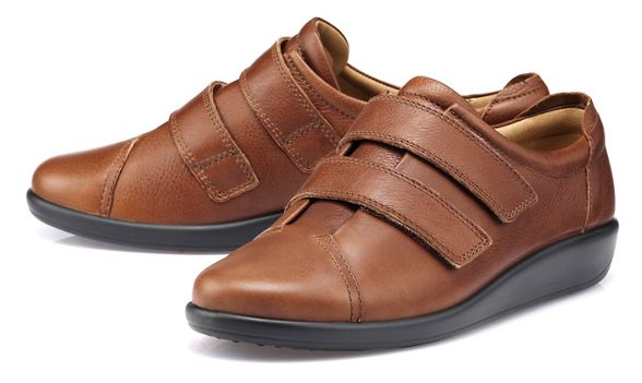 'Leap' Hotter shoes Dark Dark tan Hotter 1IxdqxpwB