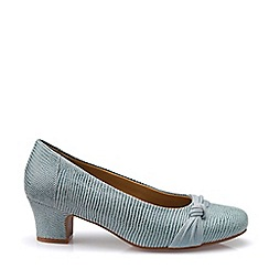 Hotter - Aqua 'Lizzie' Mid Heel Court Shoes