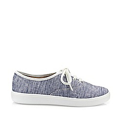 Hotter - Blue 'Mabel' Lace-Up Shoes
