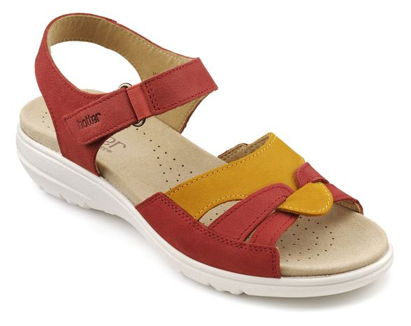 toe Terracotta peep 'Madeline' Hotter sandals xtUwOAxq