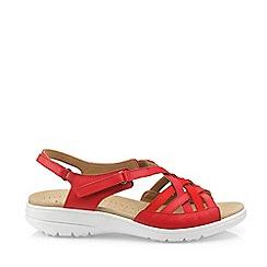 Hotter - Dark Orange 'Maisie' Slingback Sandals