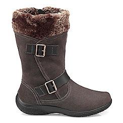 Hotter - Dark grey 'Melody' biker boots