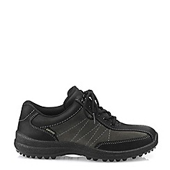 Hotter - Black 'Mist GTX' Wide Fit Lace-Up Shoes