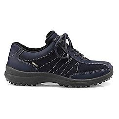 Hotter - Dark blue 'Mist GTX' lace-up shoes