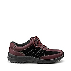 Hotter - Maroon 'Mist GTX' lace-up shoes