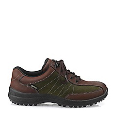 Hotter - Brown 'Mist GTX' Lace-Up Shoes