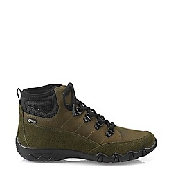 Hotter - Dark Green 'Morland GTX' Lace-Up Boots