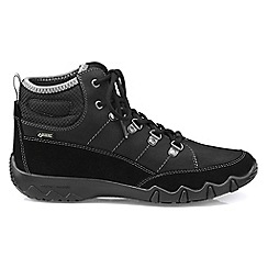 Hotter - Black 'Morland GTX' lace-up boots
