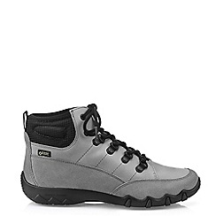 Hotter - Light Grey 'Morland GTX' Lace-Up Boots