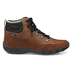 Hotter - Brown 'Morland GTX' lace-up boots