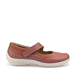Hotter - Dark Peach 'Mystic' Mary Janes Shoes