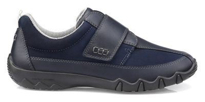 Hotter - Navy 'Nicole' wide fit casual trainers