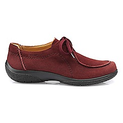 Hotter - Maroon 'Nomad' moccasin