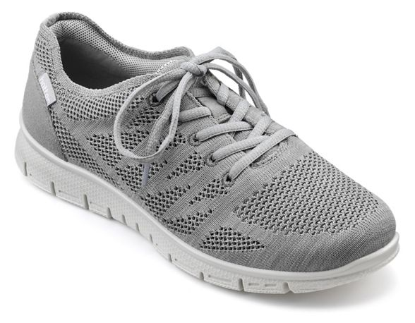 'Nova' up Grey Hotter lace trainers Ofq5tt0wx