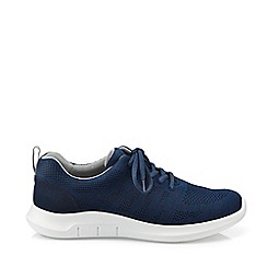 Hotter - Navy 'Nova' Lace-Up Trainers