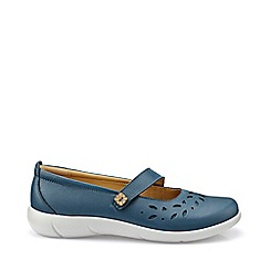 Hotter - Light blue 'Peace' wide fit mary jane shoes