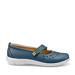 Hotter - Blue 'Peace' Mary Janes Shoes