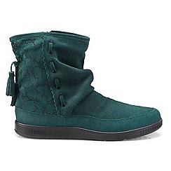Hotter - Dark green 'Pixie' slouch calf boots
