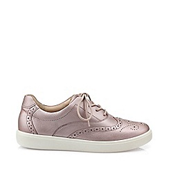 Hotter - Lilac 'Piper' lace-up shoes