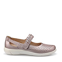 Hotter - Lilac 'Quake' Extra Wide Mary Jane Shoes