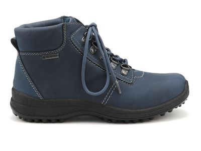 Hotter - Blue 'Rutland GTX' ankle boots