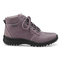 Hotter - Lilac 'Rutland GTX' ankle boots