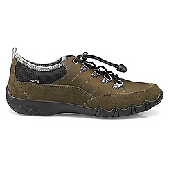Hotter - Light green 'Rydal GTX' wide fit lace up shoes