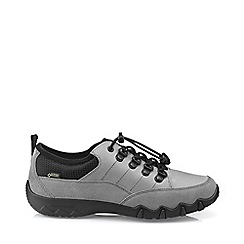Hotter - Grey 'Rydal' gtx© lace-up shoes