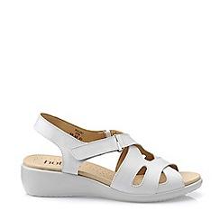 Hotter - White 'Salou' Sandals