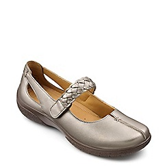 Hotter - Metallic 'Shake' extra wide cross bar shoes